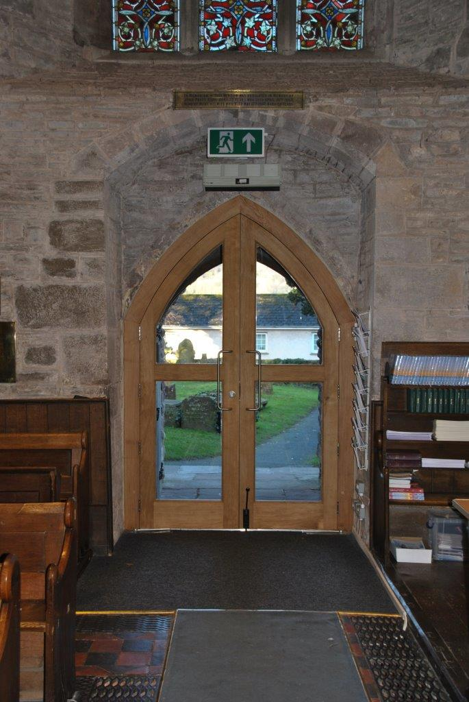 West door from inside